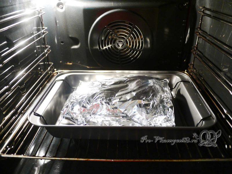 Курица со специями запеченная в духовке - запекание