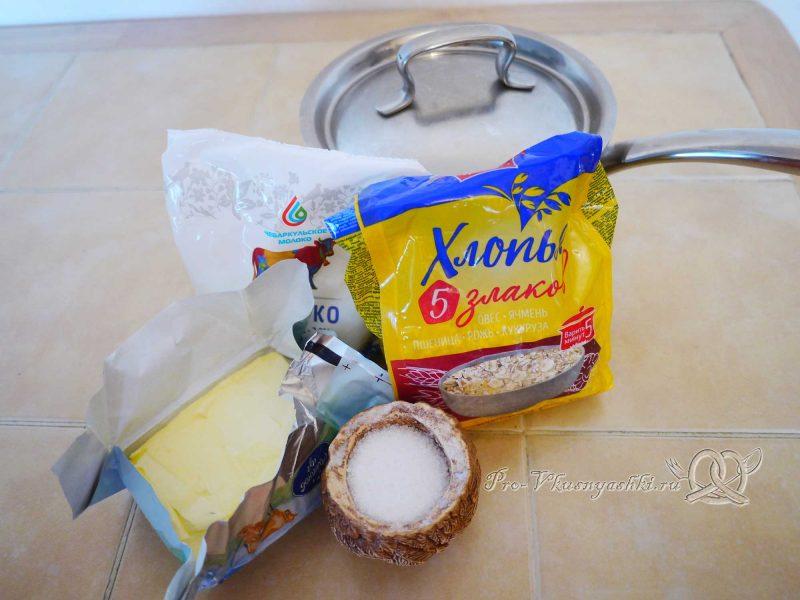 Каша 5 злаков на молоке - ингредиенты
