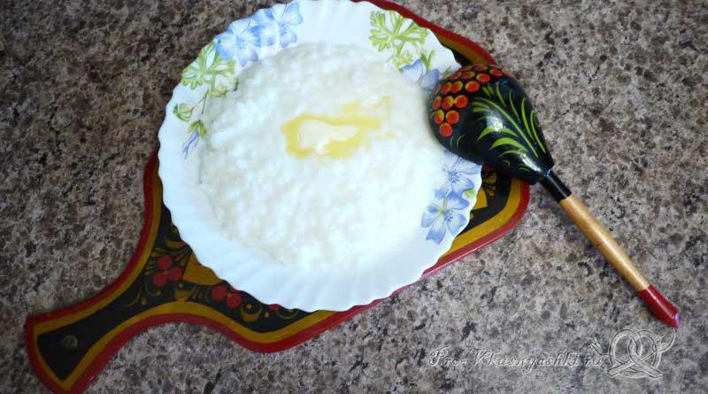 Рисовая каша на молоке - готовое блюдо