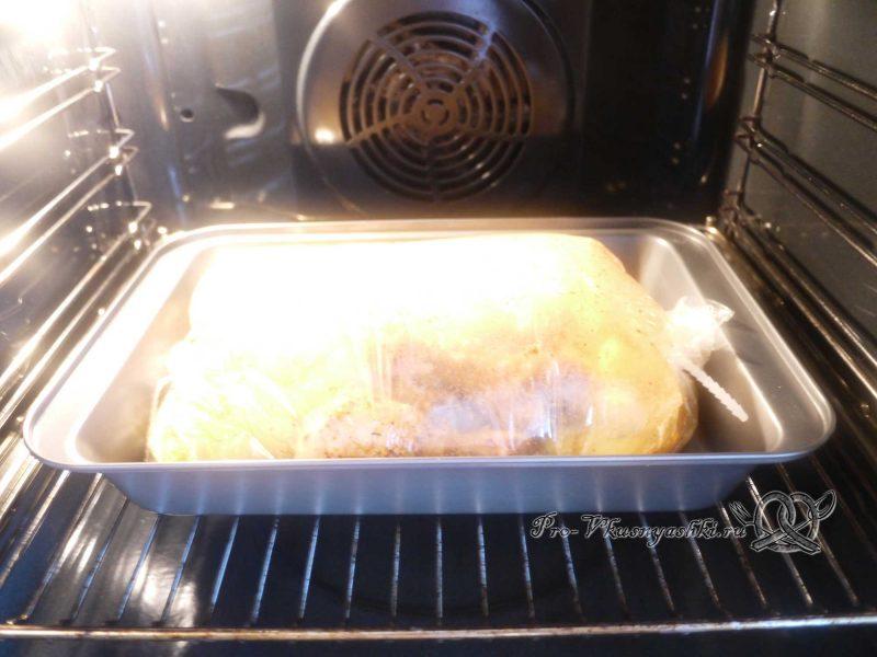 Курица (куриные ножки) с картошкой в духовке - рукав вздулся