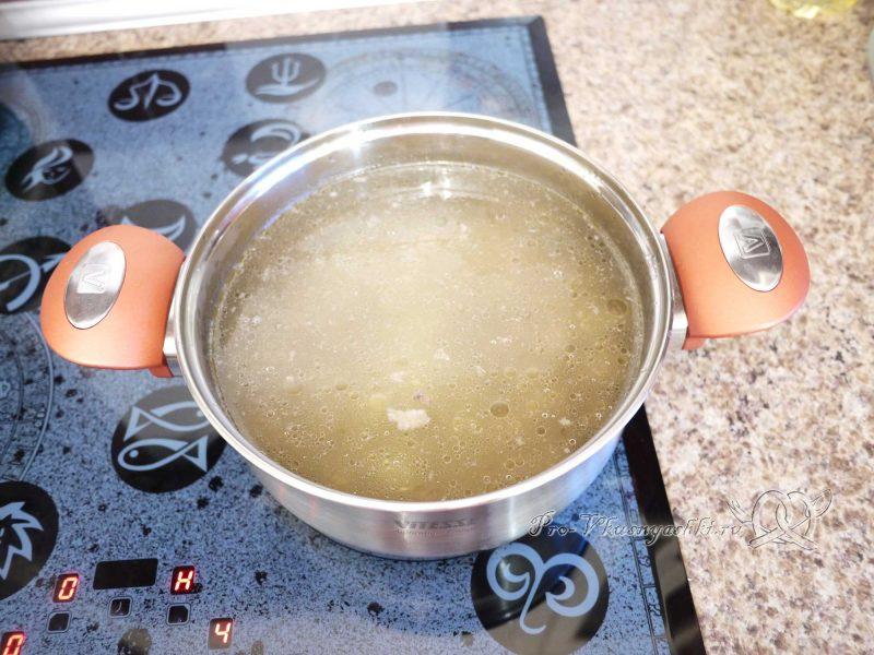 Суп Харчо - варим бульон