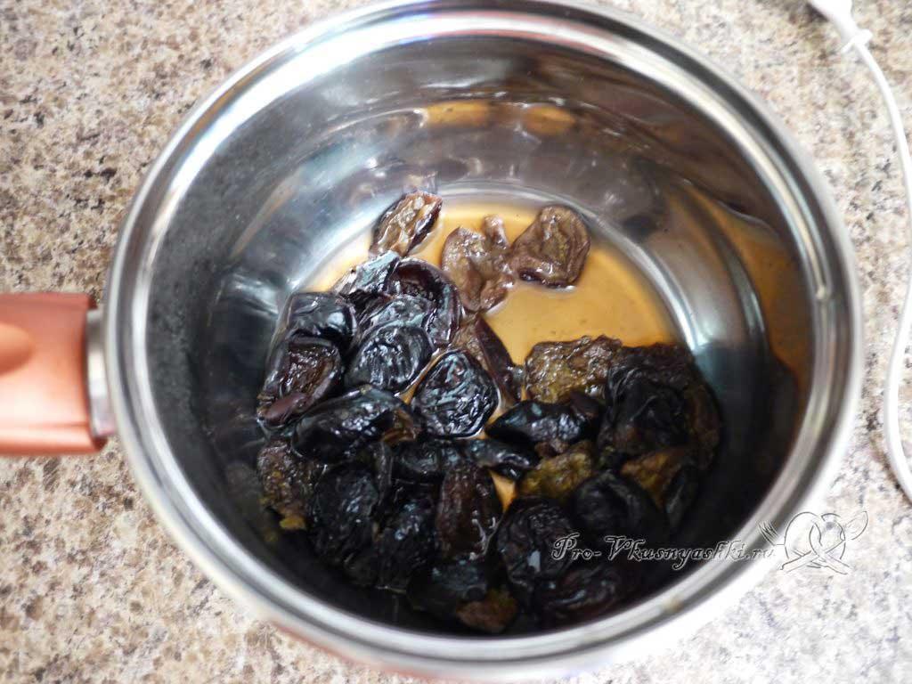Суп Харчо в домашних условиях - сливаем воду со слив