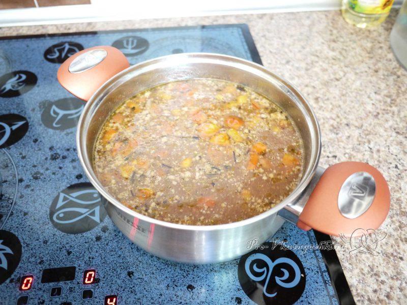 Суп Харчо - добавляем помидоры