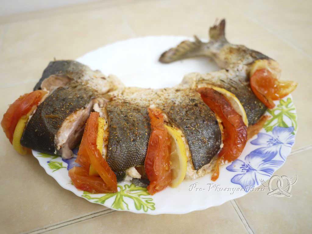 Горбуша запеченная в духовке в фольге - рыба готова