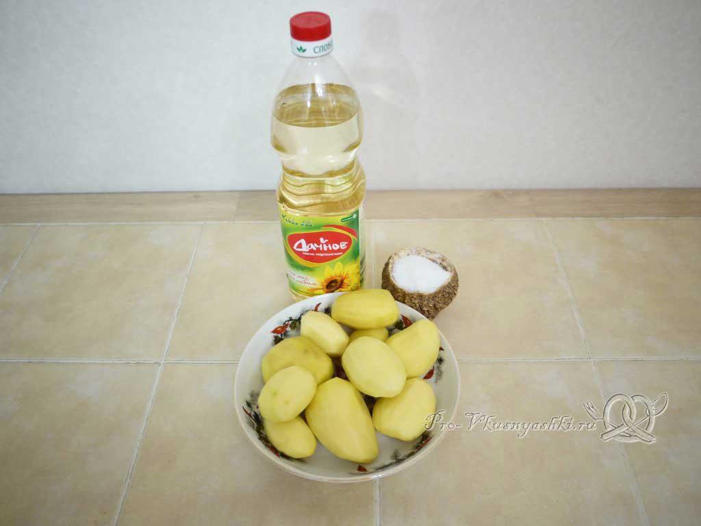 Картофель фри в домашних условиях - ингредиенты