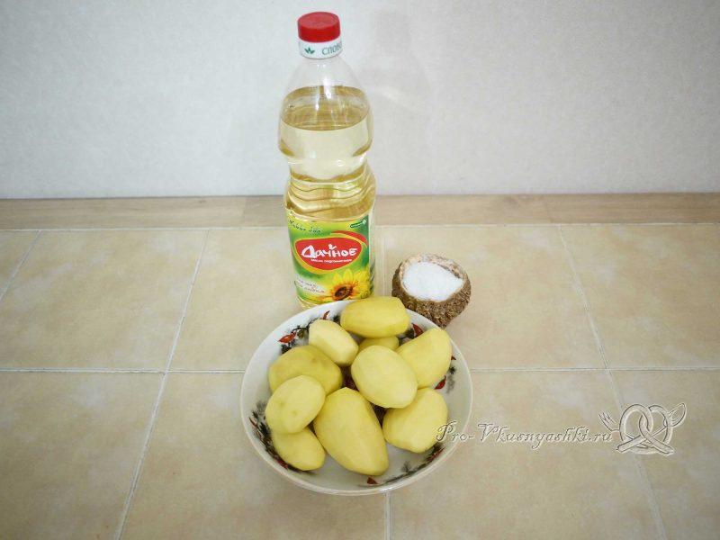 Картофель фри - ингредиенты