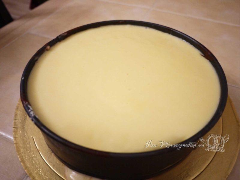 Торт Три шоколада - белая глазурь