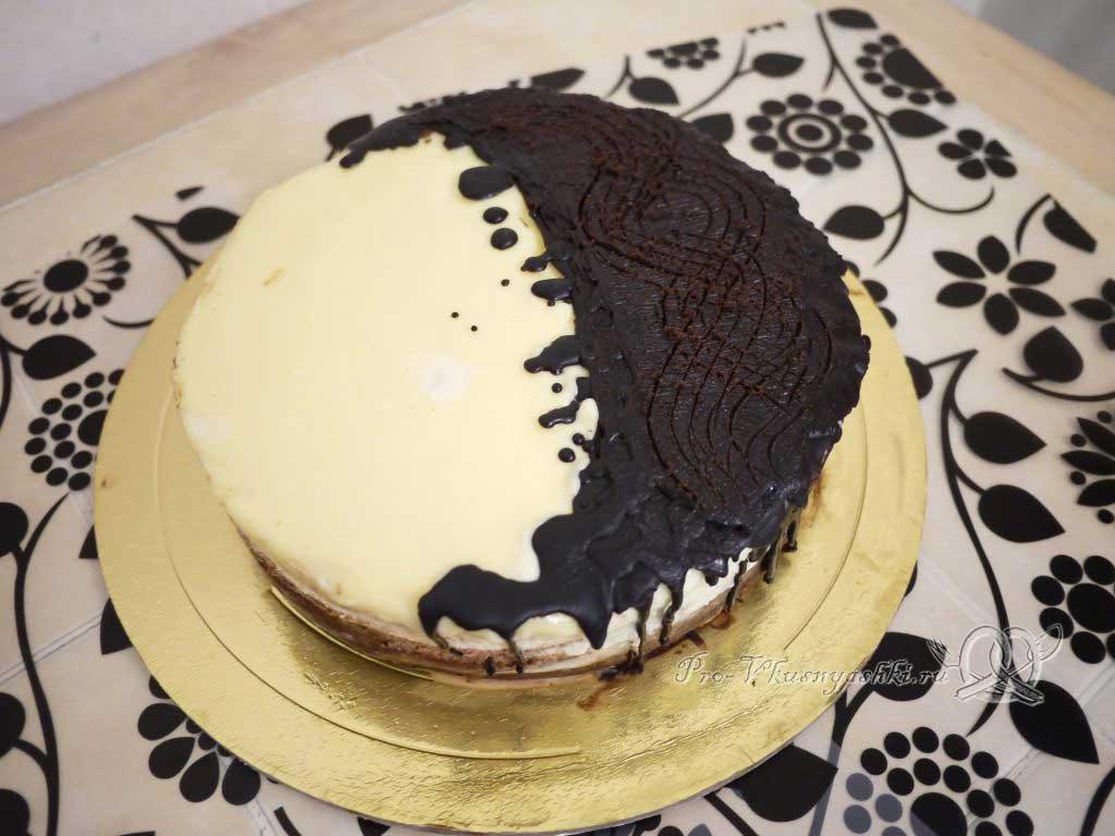 Торт Три шоколада - украшение