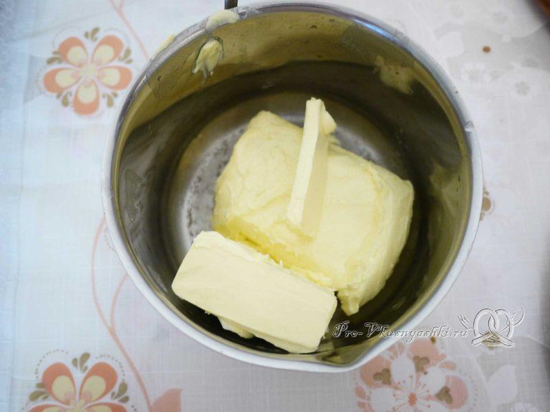 Бисквитный торт Муслин - масло