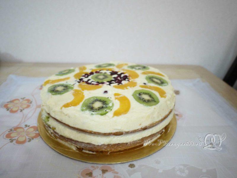 Бисквитный торт Муслин - достаем торт из формы