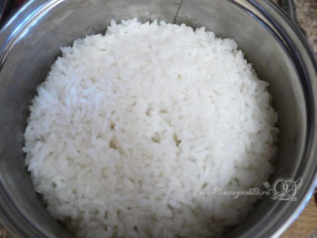 Роллы рисом наружу в домашних условиях - отварной рис