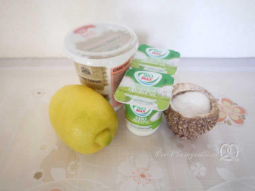 Сыр Филадельфия в домашних условиях - ингредиенты