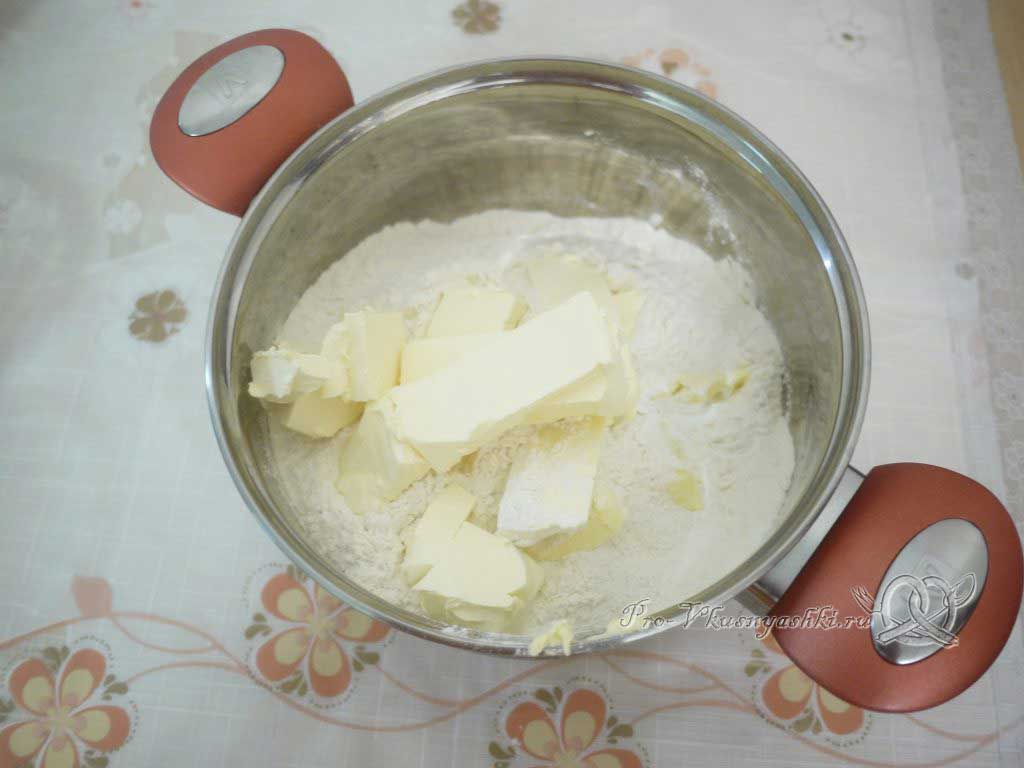 Торт «Любимчик Пашка» - масло и мука