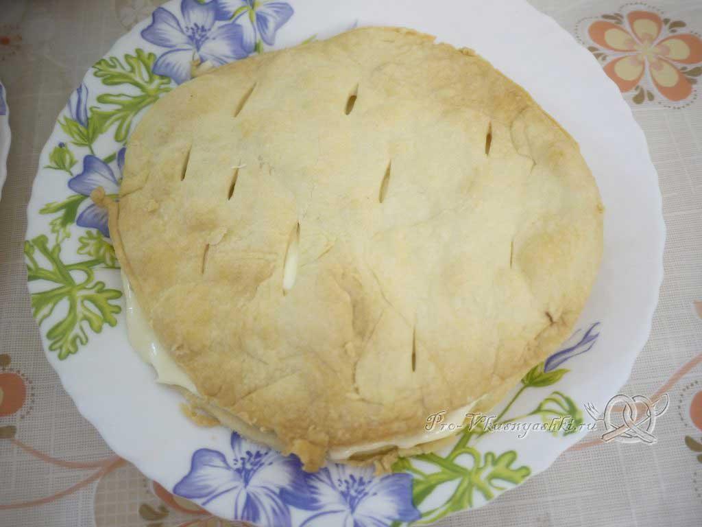 Торт «Любимчик Пашка» - второй слой