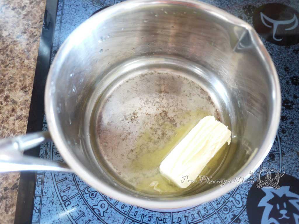 Фаршированный картофель запеченный в духовке - топим масло