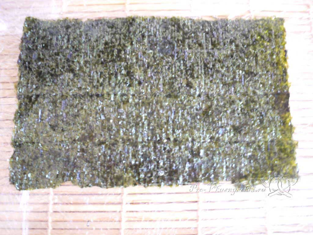 Роллы мозаика в домашних условиях - нори