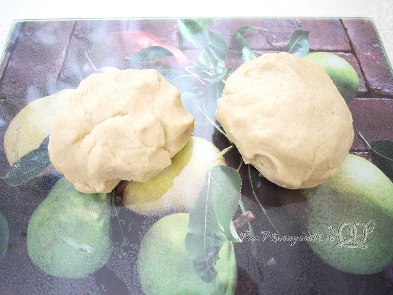 Имбирные пряники с глазурью - тесто