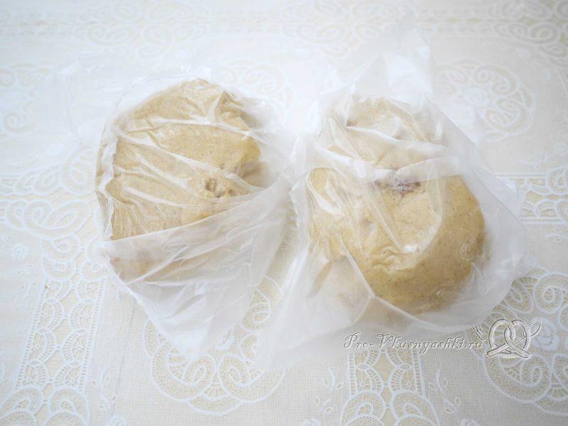 Имбирные пряники с глазурью - тесто в пакете