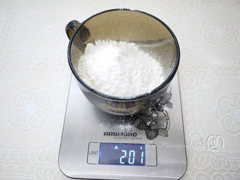 Имбирные пряники с глазурью - сахарная пудра