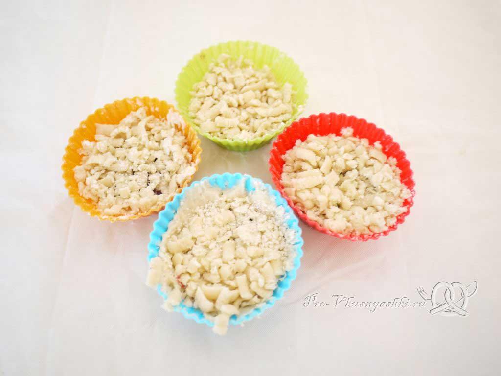 Песочное печенье с вареньем и крошкой - печенье