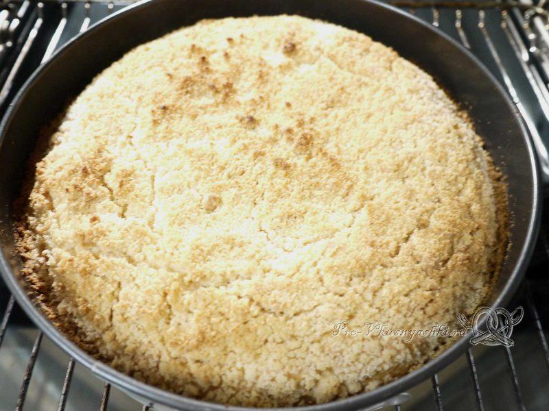 Королевская ватрушка с творогом - готовый пирог