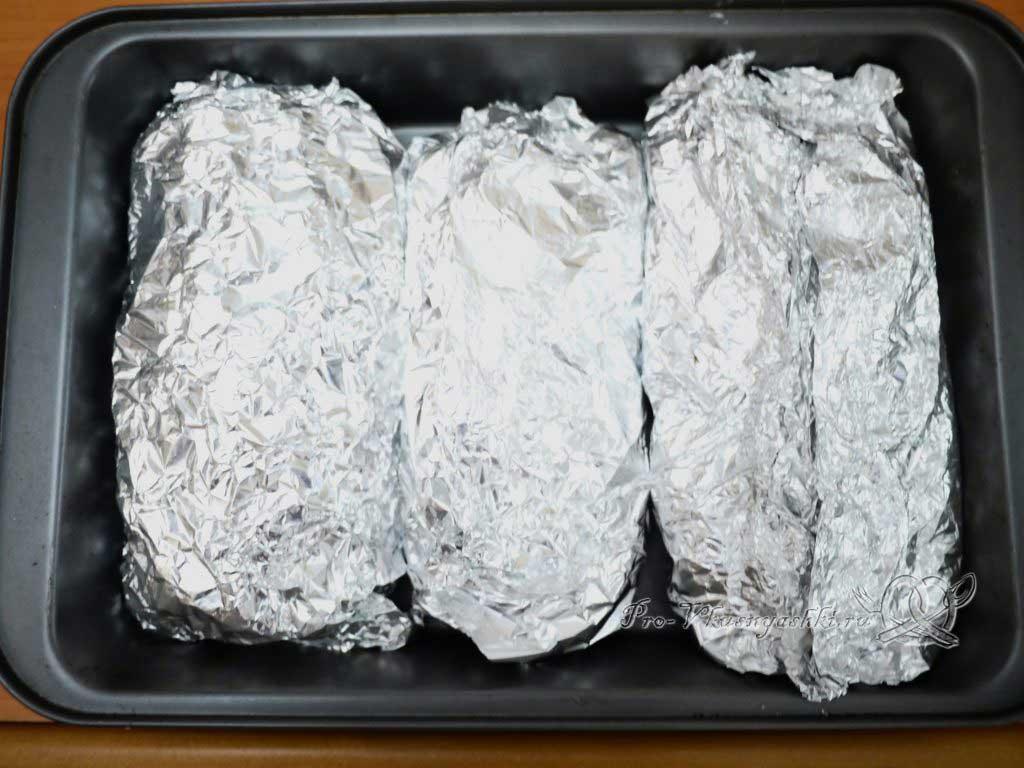 Мясо по-французски с картофелем - заворачиваем в фольгу