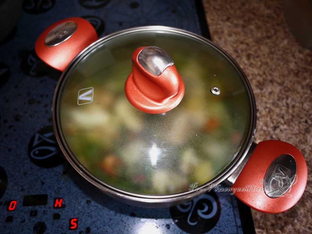 Овощное рагу с кабачками и картофелем - тушим овощи