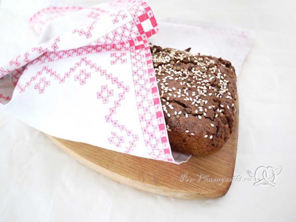 Бородинский хлеб в духовке - остужаем