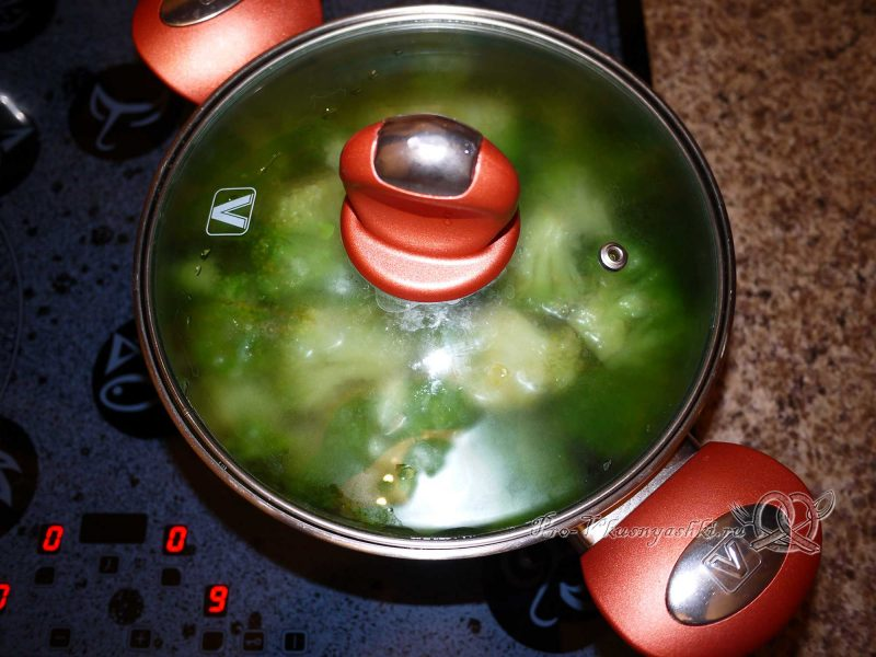 Вареная капуста брокколи - варим брокколи