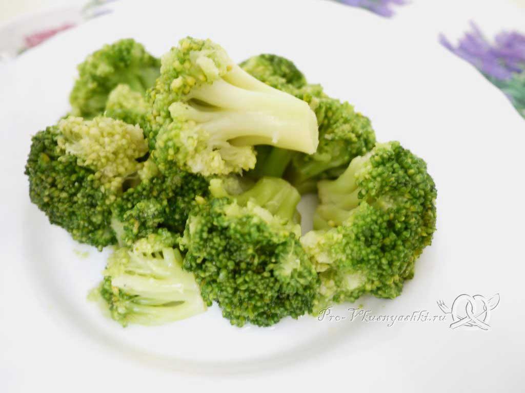 Как сварить брокколи - готовая брокколи
