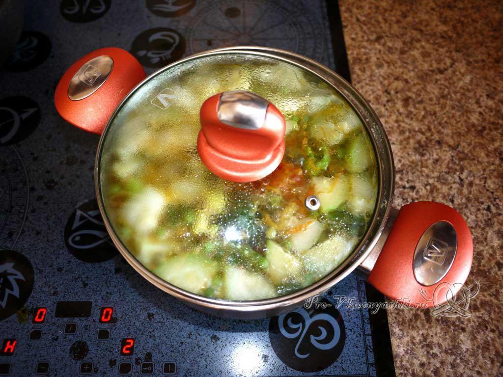 Постный овощной суп - томим суп