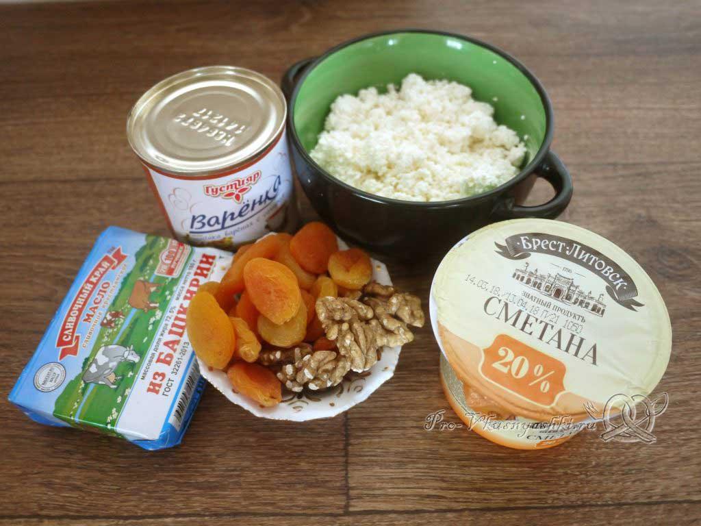 Творожная Пасха со вкусом карамели - ингредиенты