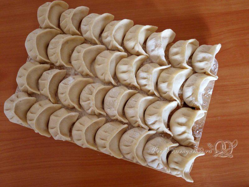 Вкусные домашние пельмени - лепим пельмени