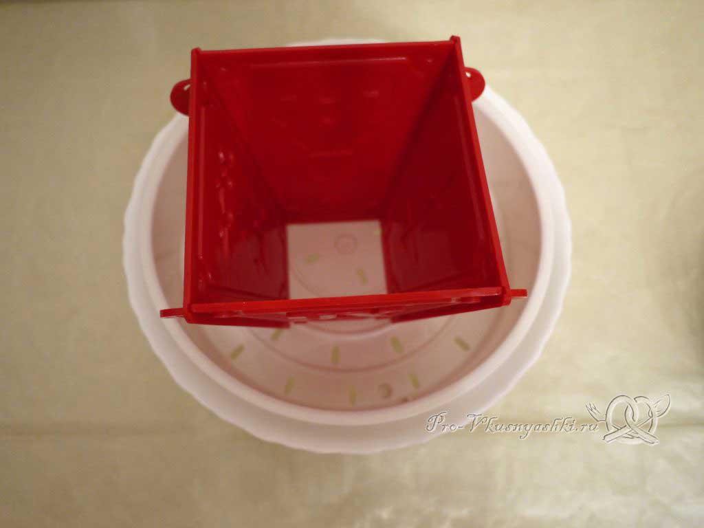 Королевская Пасха из молока - подготовка посуды для пасхи