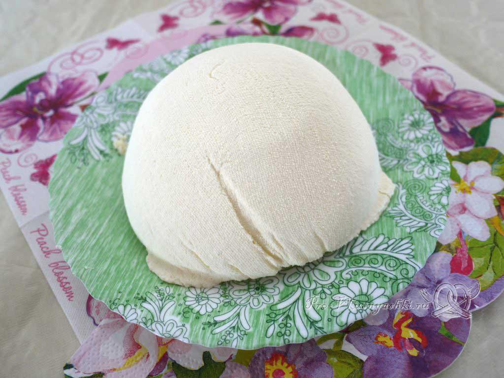Сыр маскарпоне в домашних условиях - готовый сыр