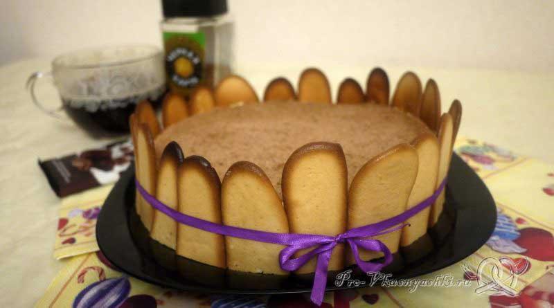 Торт Тирамису в домашних условиях - готовый торт