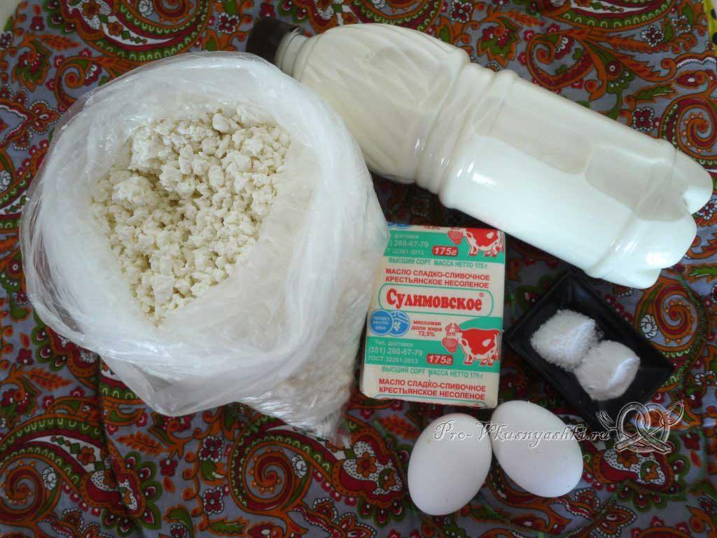 Домашний твердый сыр - ингредиенты