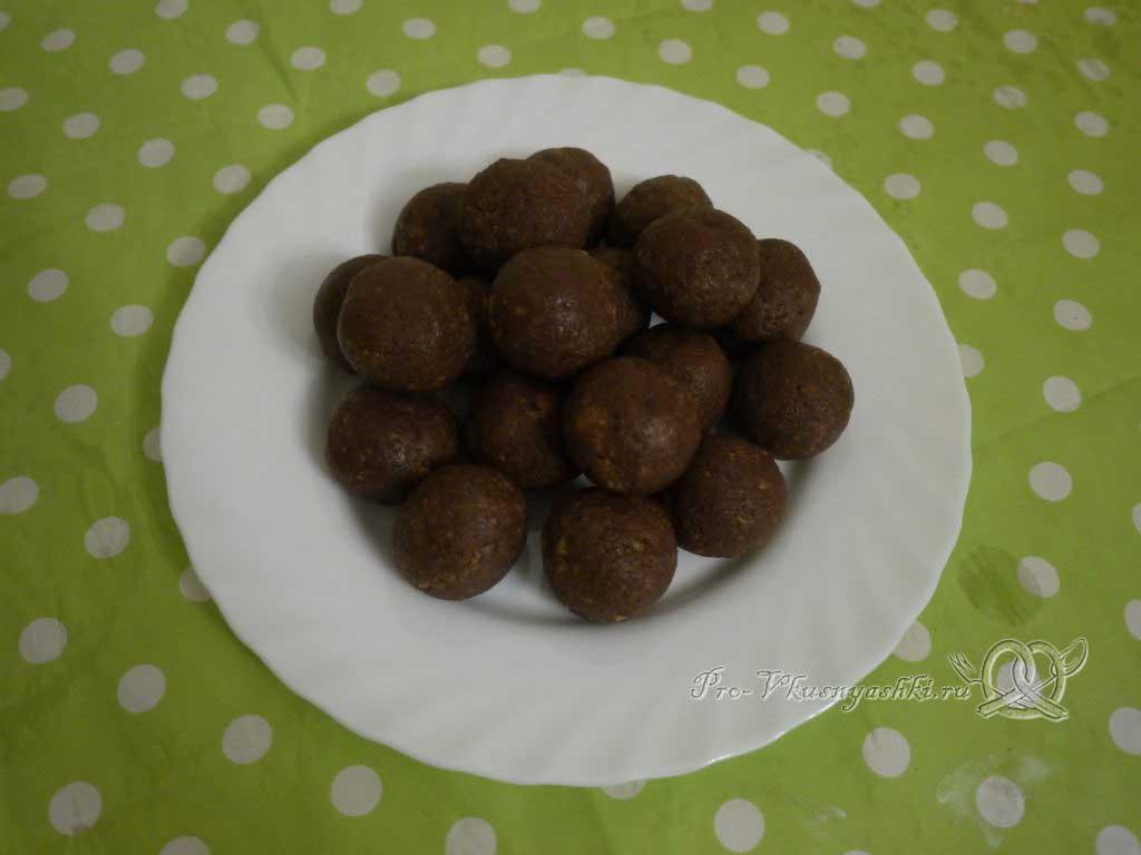 Кейк попсы со сгущенкой (картошка в шоколаде) - формуем шарики