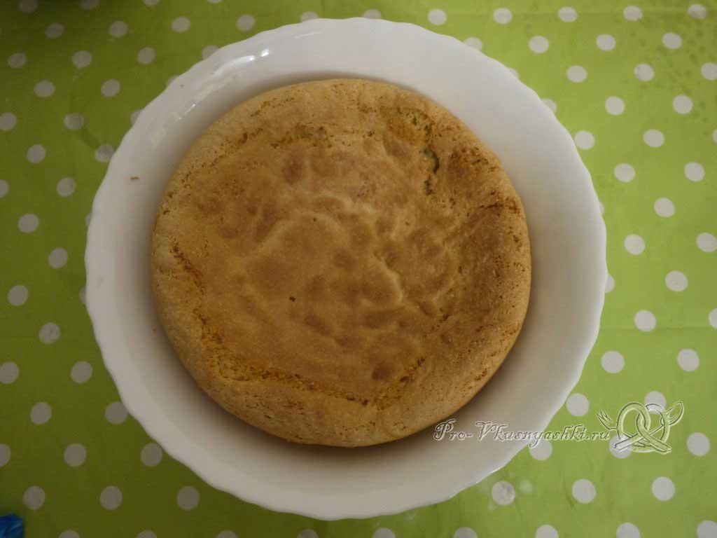 Кейк попсы со сгущенкой (картошка в шоколаде) - остужаем бисквит