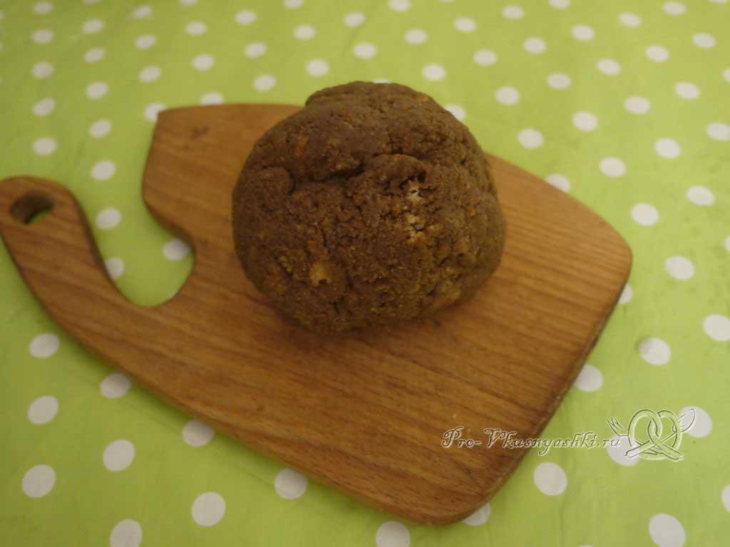 Кейк попсы со сгущенкой (картошка в шоколаде) - тесто