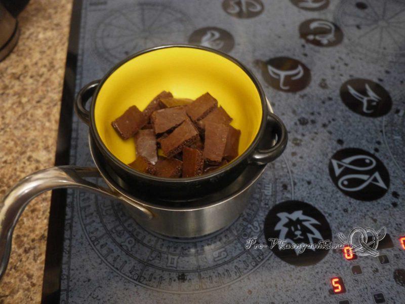 Кейк попсы со сгущенкой (картошка в шоколаде) - топим шоколад