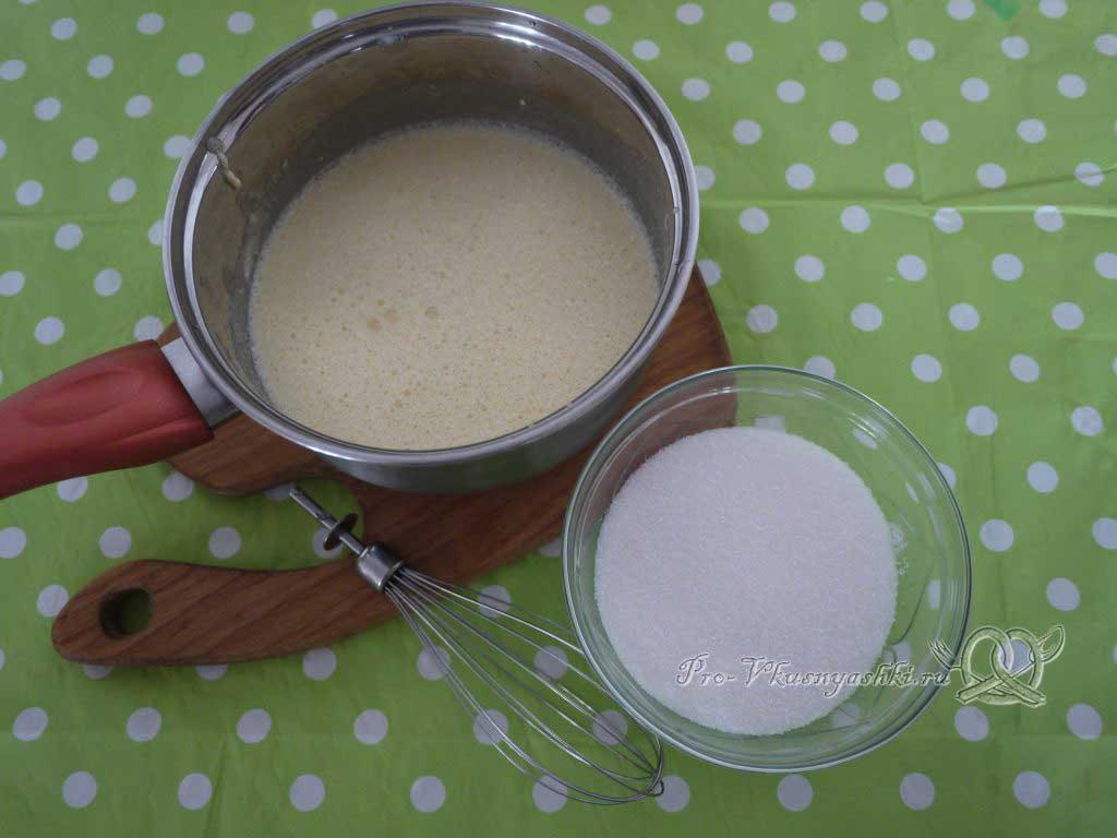 Вафельные трубочки со сгущенкой - добавляем сахар