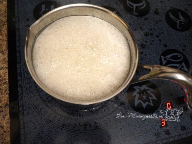 Яблочный зефир на агар-агаре - нагреваем сироп