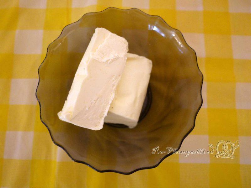 Творожный чизкейк без выпечки «Розовая зебра» - сливочное масло