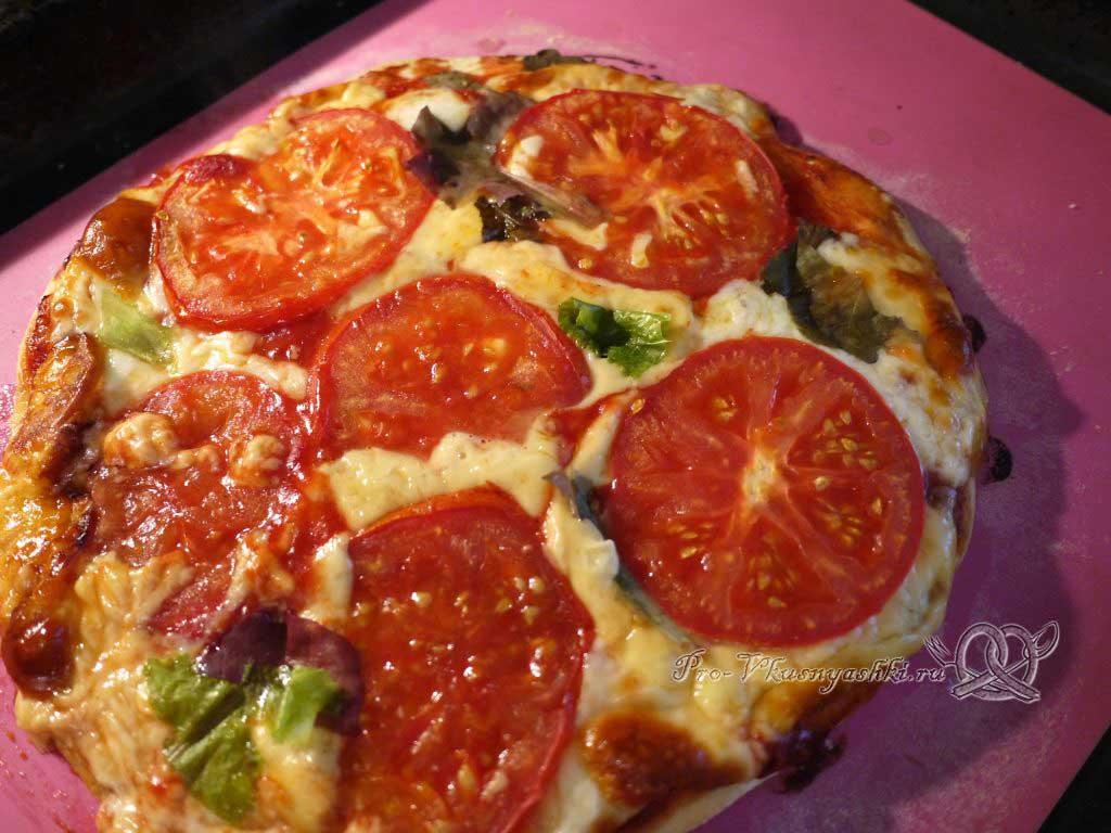 Пицца Маргарита в духовке - пицца готова