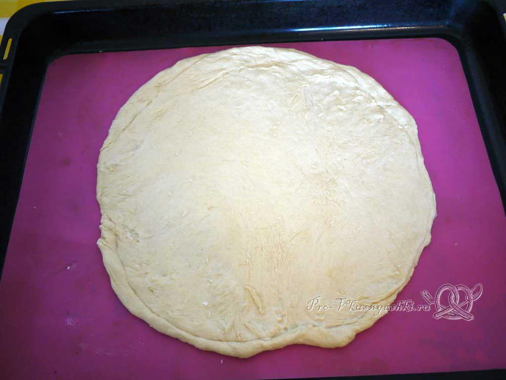 Пицца Пепперони - раскатываем тесто