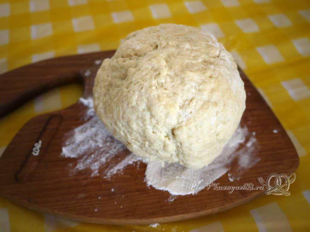 Пирожки с щавелем жареные на сковороде - тесто