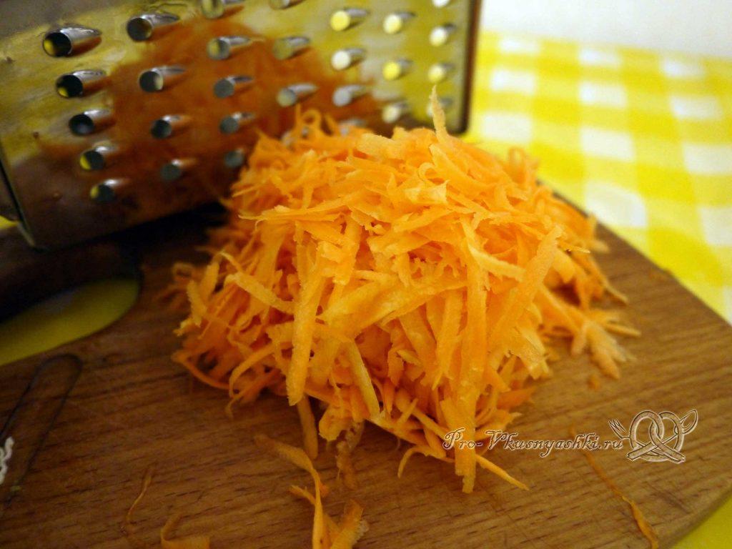 Лечо из перца на зиму «Пальчики оближешь» - измельчаем морковь