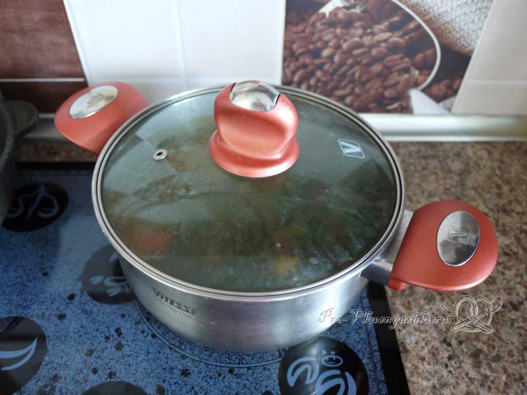 Летний суп с щавелем и ботвой - настаиваем суп