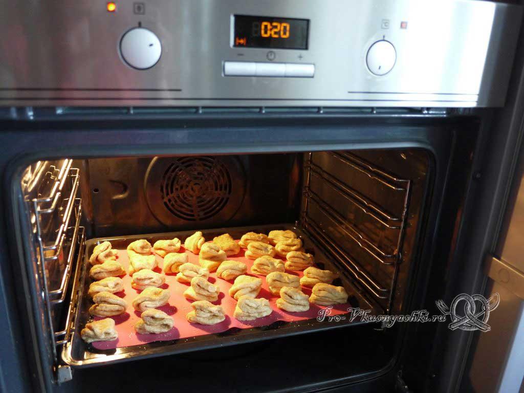 Творожное печенье Треугольники с сахаром - выпекаем печенье
